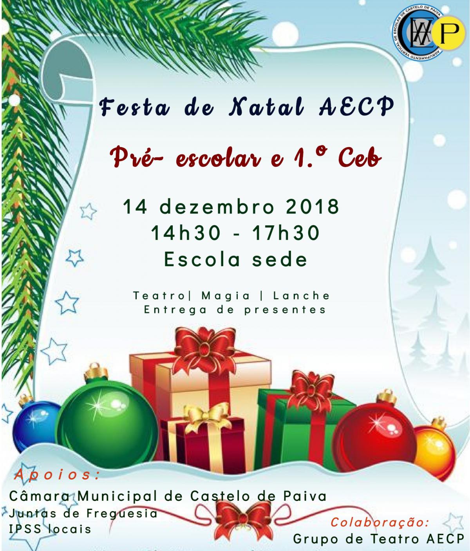 Festa de Natal AECP
