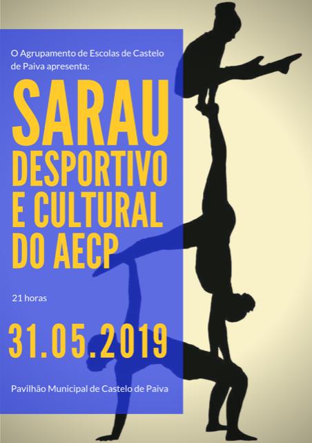SARAU DESPORTIVO E CULTURAL AECP 2019
