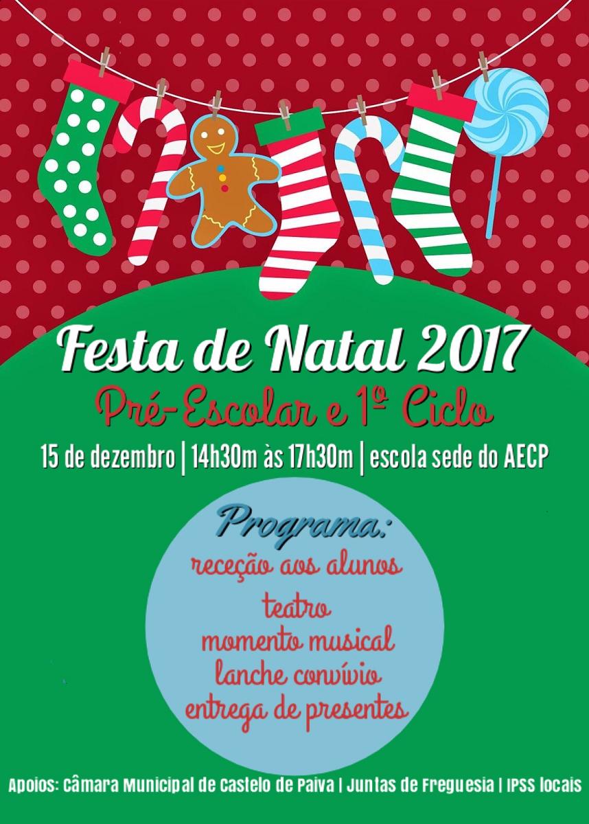 Festa Natal pré-escolar e 1.º CEB